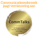 Adwin Peeks Communicatieonderzoek vernieuwing accountability communicatiemetingen essay Meten en Scoren